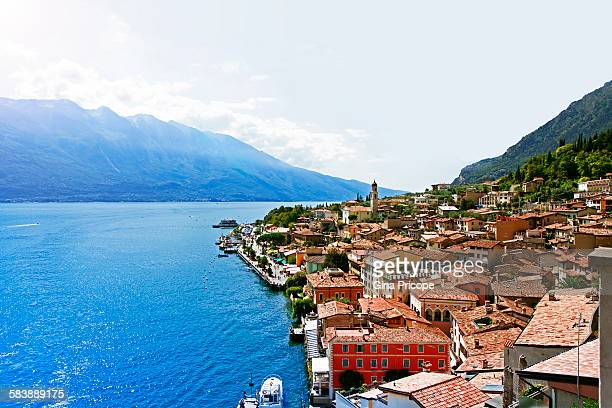 Limone sul Garda, general view in Lombardy, Italy