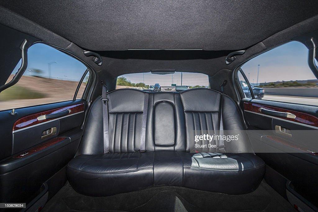 Limousine interior : Stock Photo