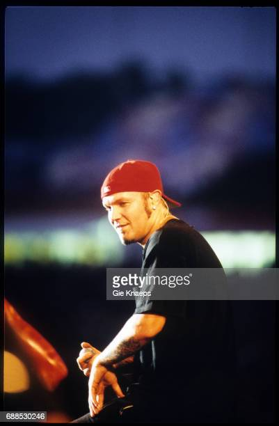 Limp Bizkit Fred Durst Pukkelpop Festival Hasselt Belgium August 2000