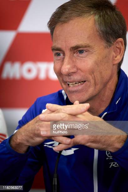 Lin Jarvis managing director of Yamaha Motor Racing during the team managers press conference of Gran Premio Motul de la Comunitat Valenciana at...