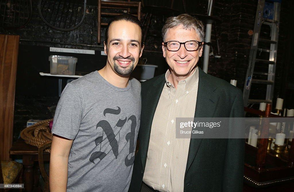 Celebrities Visit Broadway - October 11, 2015 : News Photo