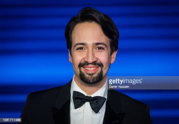 LIn Manuel Miranda attends the European Premiere of 'Mary Poppins Returns' at Royal Albert Hall on December 12 2018 in London England