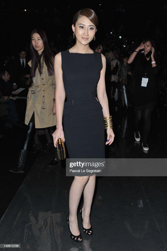 Elie Saab: Front Row - Paris Fashion Week Womenswear Fall/Winter 2012