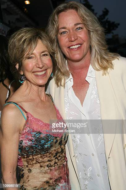 Lin Shaye and Diane Delano during Surf School Los Angeles Premiere May 16 2006 in Los Angeles California United States