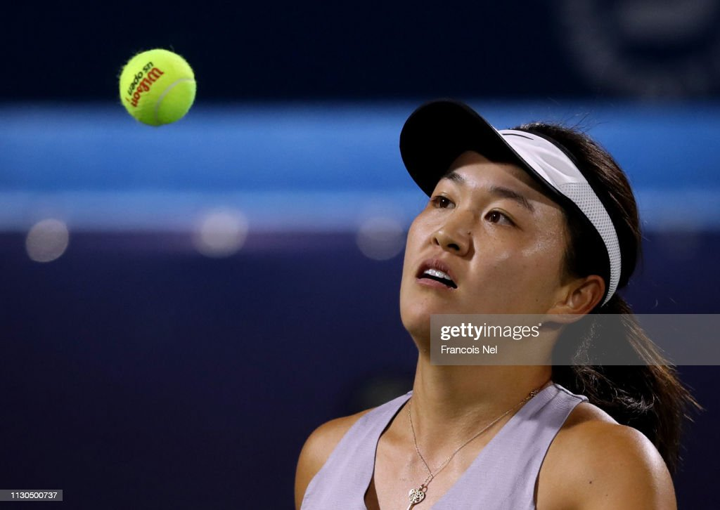 Dubai Duty Free Tennis Championships - Day Two : ニュース写真