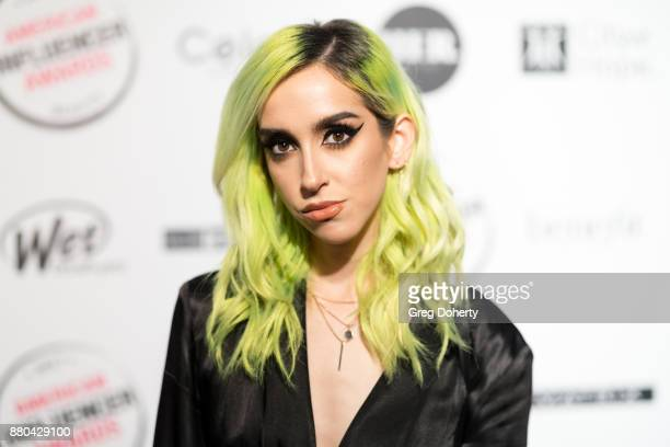 Lina Assayed attends the American Influencer Award at The Novo by Microsoft on November 18 2017 in Los Angeles California
