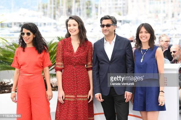 Lina Caicedo Fiammetta Luino Asif Kapadia and Raquel Alvarez attend the photocall for Diego Maradona during the 72nd annual Cannes Film Festival on...