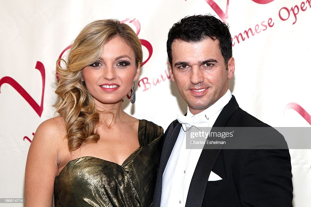 Lina Dovolani and Tony Dovolani attend The 58th Annual Viennese Opera Ball at The Waldorf=Astoria on February 1, 2013 in New York City.