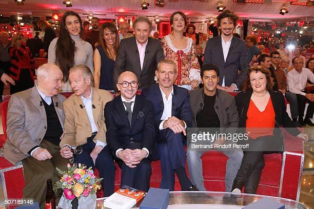 Lina Elarabi Samia Sassi Michel Drucker Virginie Hocq Arnaud Tsamere Main Guest of the show Actor Michel Bouquet Jean Piat Fatsah Bouyahmed Lambert...