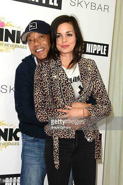 Lina Esco and Russell Simmons attend the Free The Nipple fundraiser hosted by Russell Simmons at SkyBar at the Mondrian Los Angeles on June 19 2014...