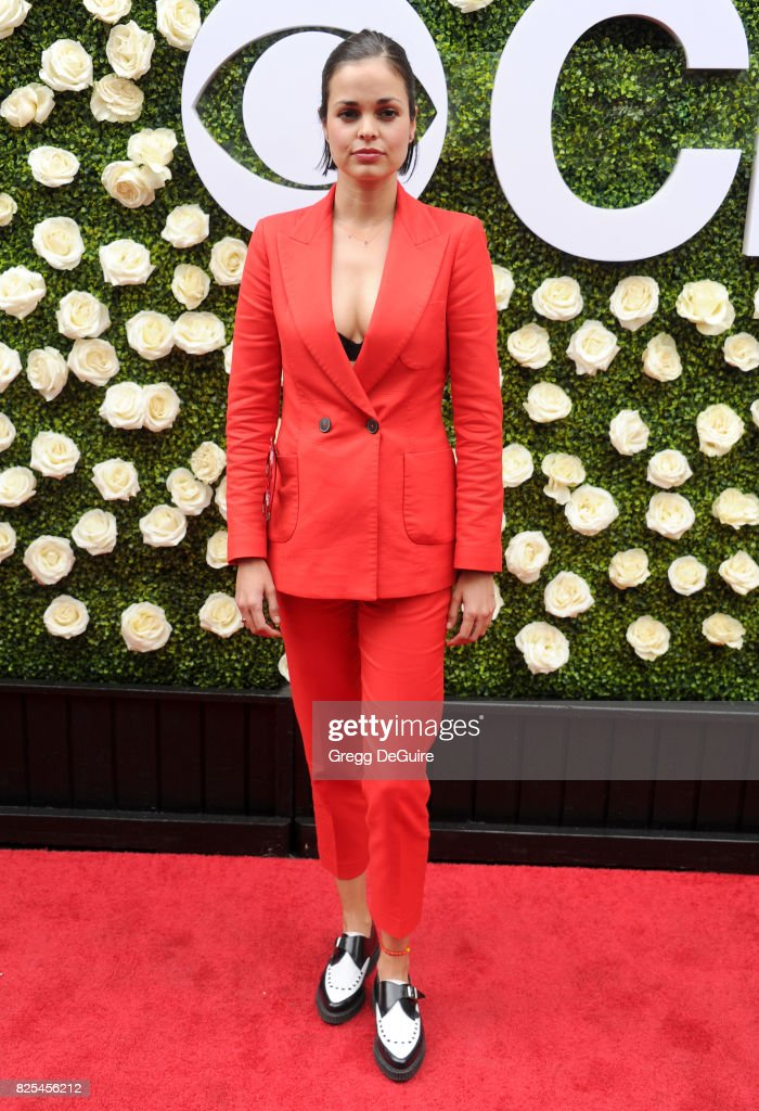 Lina Esco arrives at the 2017 Summer TCA Tour - CBS Television Studios' Summer Soiree at CBS Studios - Radford on August 1, 2017 in Studio City, California.