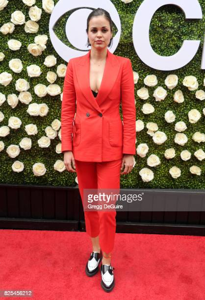 Lina Esco arrives at the 2017 Summer TCA Tour CBS Television Studios' Summer Soiree at CBS Studios Radford on August 1 2017 in Studio City California