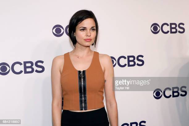 Lina Esco attends the 2017 CBS Upfront at The Plaza Hotel on May 17 2017 in New York City