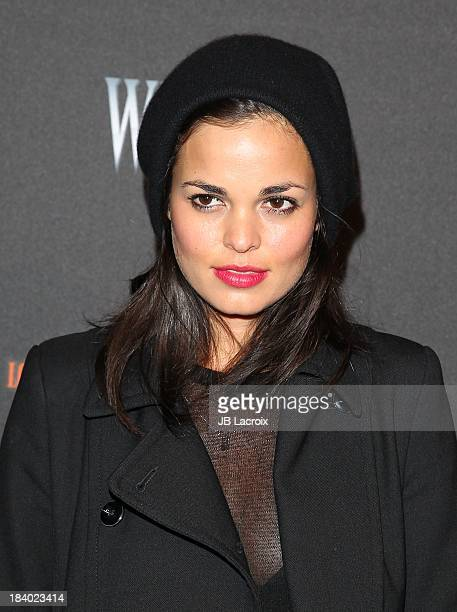 Lina Esco attends the 5th Annual Los Angeles Haunted Hayride Premiere Night at Griffith Park on October 10, 2013 in Los Angeles, California.
