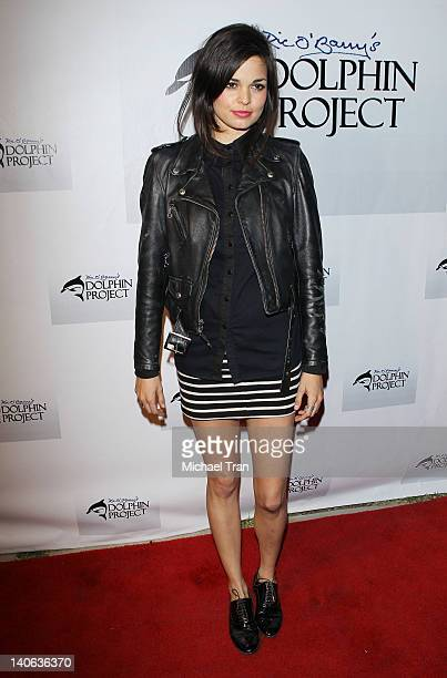 Lina Esco attends the cocktail reception honoring Richard O'Barry star of the OscarWinning Documentary The Cove held at a private residence on March...