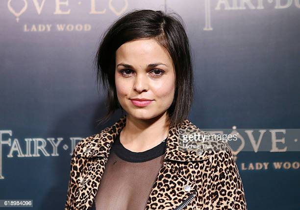 Lina Esco attends the premiere of Tove Lo Fairy Dust held at the Egyptian Theatre on October 28 2016 in Hollywood California
