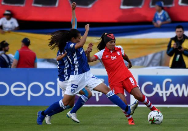 COL: Millonarios v Independiente Santa Fe - Liga Aguila Femenina 2019