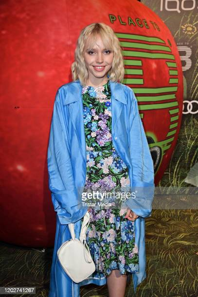 Lina Larissa Strahl attends Place To B Berlinale Party during the 70th Berlinale International Film Festival Berlin at Borchardt Restaurant on...