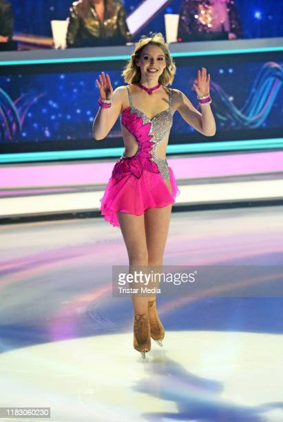 Lina Larissa Strahl during the 2nd SAT1 Live TV show 'Dancing on Ice' at MMC TV Studios on November 17 2019 in Cologne Germany