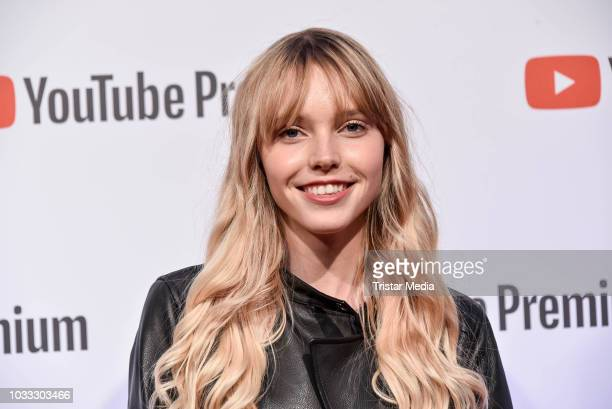 Lina Larissa Strahl during the YouTube Originals party at Festsaal Kreuzberg on September 12 2018 in Berlin Germany