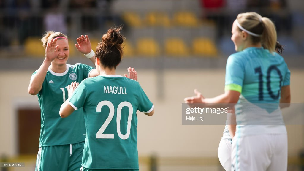 Slovenia Women's v Germany Women's - 2019 FIFA Women's World Championship Qualifier