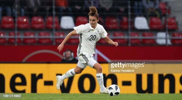 Lina Magull of Germany during the Germany Women v Spain Women International Friendly at Arena Erfurt on November 13 2018 in Erfurt Germany