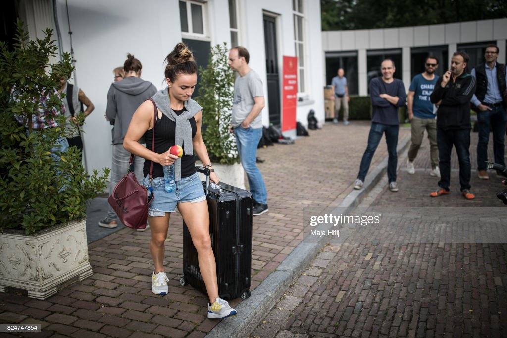 Germany Departure - UEFA Women's Euro 2017