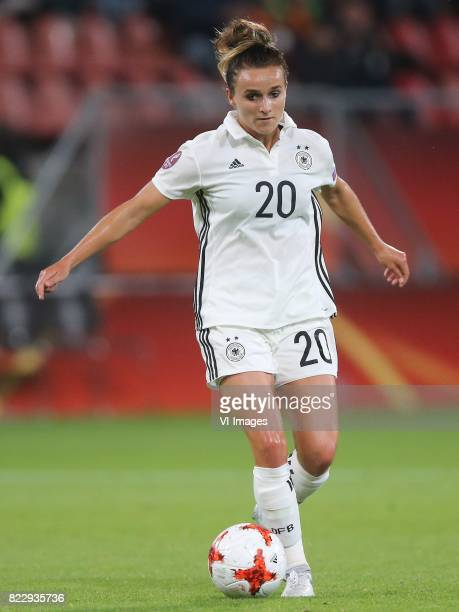 Lina Magull of Germany women during the UEFA WEURO 2017 Group B group stage match between Russia and Germany at the Galgenwaard Stadium on July 25...
