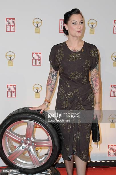 Lina van de Mars attends 'Goldenes Lenkrad' Award 2012 at AxelSpringer Haus on November 7 2012 in Berlin Germany