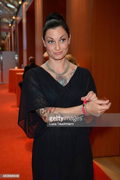 Lina Van de Mars attends the Christoph Metzelder Foundation Charity Golf Cup Gala at Axica on June 20 2014 in Berlin Germany