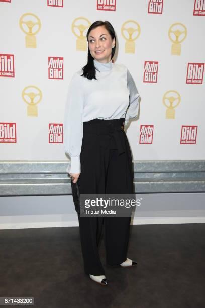Lina van de Mars attends the 'Das Goldene Lenkrad' Award at Axel Springer Haus on November 7 2017 in Berlin Germany