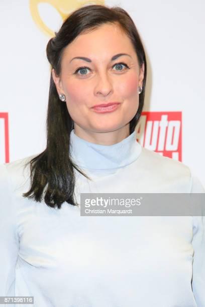 Lina van de Mars attends the 'Goldenes Lenkrad' Award at Axel Springer Haus on November 7 2017 in Berlin Germany