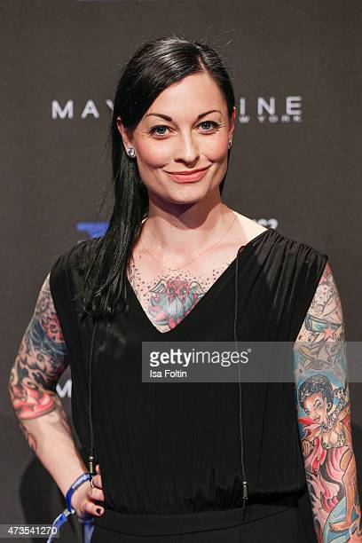 Lina van de Mars attends the Maybelline 100th anniversary celebrations on May 15, 2015 in Berlin, Germany.