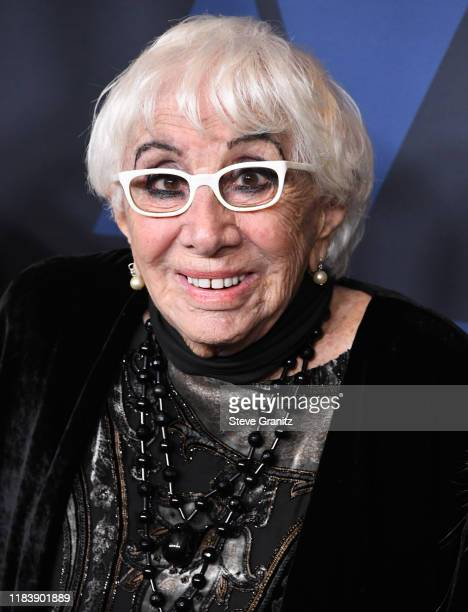 Lina Wertmüller arrives at the Academy Of Motion Picture Arts And Sciences' 11th Annual Governors Awards at The Ray Dolby Ballroom at Hollywood...