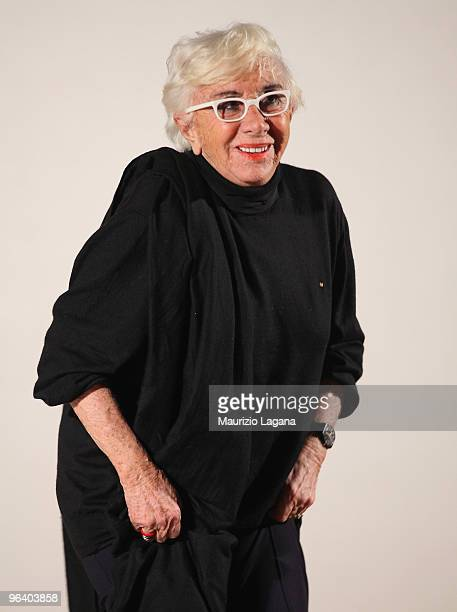 Lina Wertmuller attends a Talk Show at Cinemea Odeon during Reggio Calabria FilmFest on February 3 2010 in Reggio Calabria Italy