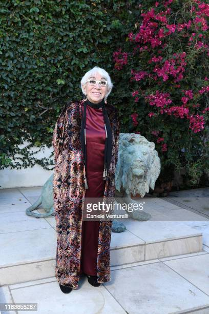 Lina Wertmuller attends Honorary Oscar Lina Wertmuller's Celebration Lunch Hosted By Martha De Laurentiis With Genoma Films And Sardinia Film...