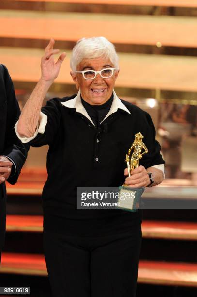 Lina Wertmuller attends the 'David Di Donatello' movie awards at the Auditorium Conciliazione on May 7 2010 in Rome Italy