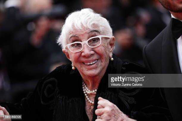 Lina Wertmuller attends the screening of Oh Mercy during the 72nd annual Cannes Film Festival on May 22 2019 in Cannes France