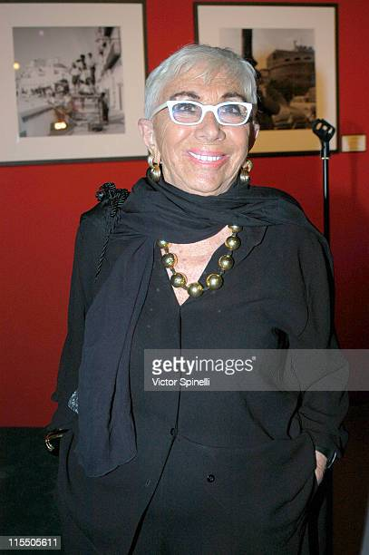 Lina Wertmuller during The 2006 Italian Film Fashion and Food Fest Opening Night in Los Angeles California United States