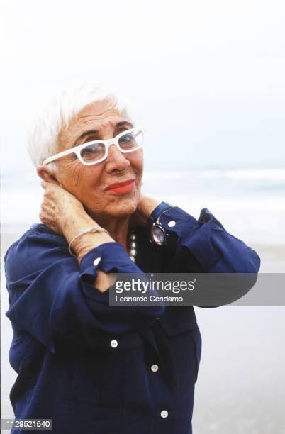 Lina Wertmuller Italian director and screenwriter Vieste Filmfest 1999