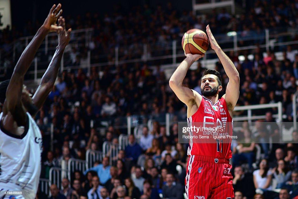 Virtus Granarolo Bologna v Olimpia EA7 Armani Milano - LegaBasket Playoffs : News Photo