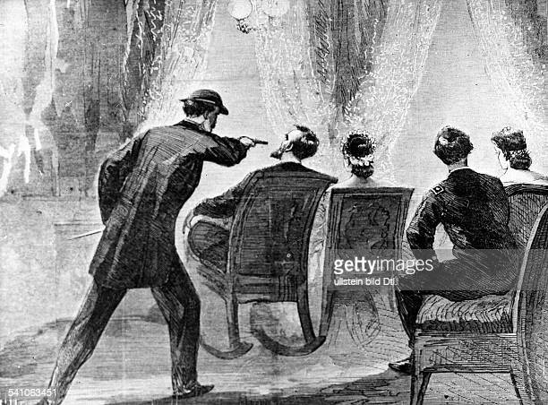 Lincoln Abraham *1202180915041865Politician USA16th President of the USA Abraham Lincoln's assassination by John Wilkes Booth
