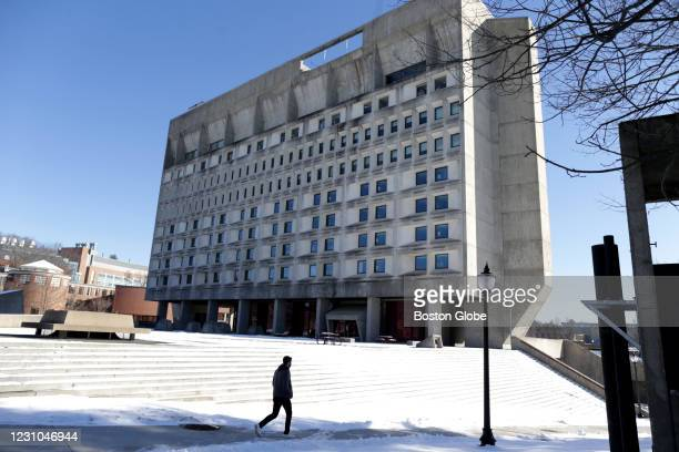 Lincoln Apartments and the Campus Center Hotel, pictured, are locations on the the UMass Amherst campus in Amherst, MA on Jan. 29, 2021. Students who...