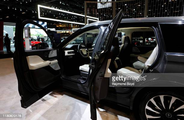 Lincoln Aviator is on display at the 111th Annual Chicago Auto Show at McCormick Place in Chicago, Illinois on February 8, 2019.