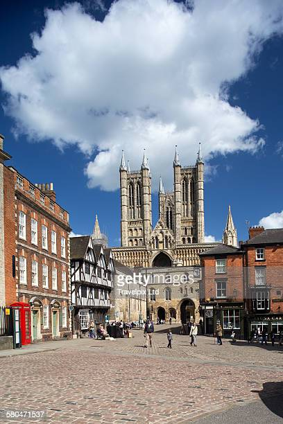 Lincoln Cathedral Lincolnshire England UK