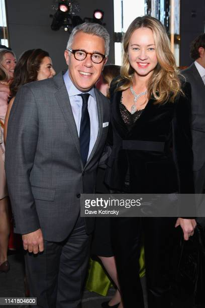 Lincoln Center for the Performing Arts Acting President Russell Granet and Axel Capital Management and Gala Chair Anna Nikolayevsky attend the...