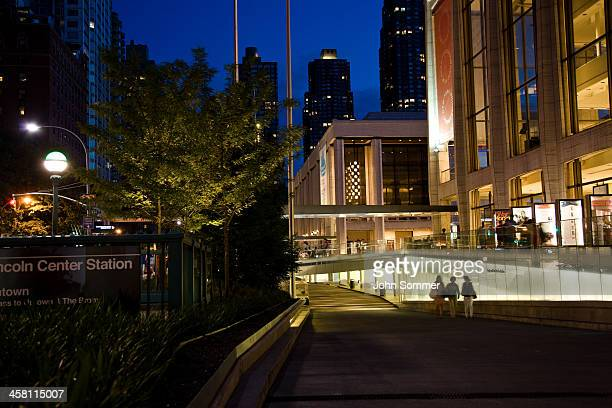 lincoln center in nyc - the theater lincoln center stock photos and pictures