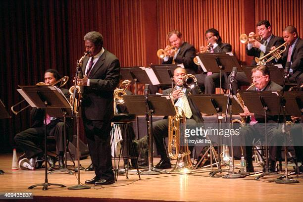 Lincoln Center Jazz Orchestra persons 'Scenes in the City The Music of Charles Mingus' at Alice Tully Hall on Friday night February 22 2002This...