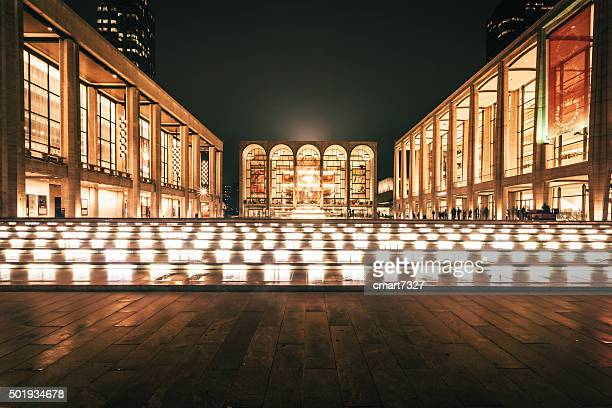 lincoln center – new york city, ny - the theater lincoln center stock pictures, royalty-free photos & images