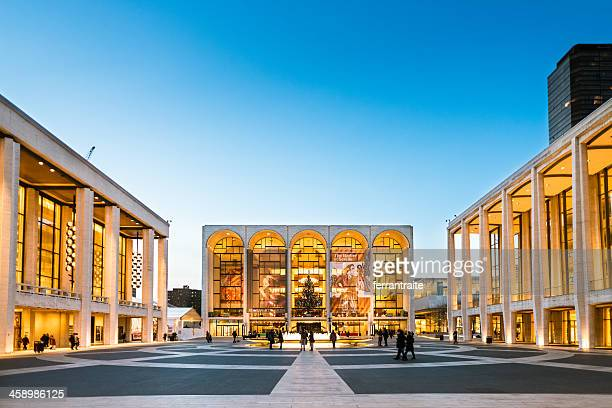 lincoln center new york - opera stock pictures, royalty-free photos & images